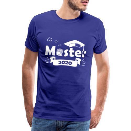 Master 2020 Abschluss 2020 - masterstudium 2020 - Männer Premium T-Shirt