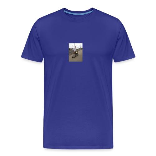 New E Skateboard Style - Männer Premium T-Shirt