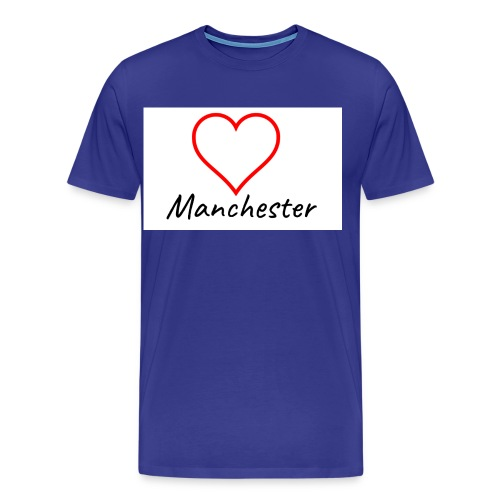 Love Manchester - Men's Premium T-Shirt