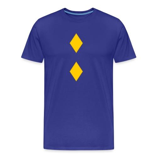 Upseerikokelas - Miesten premium t-paita