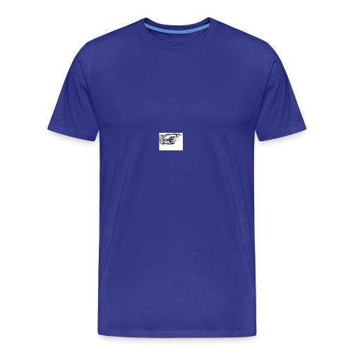 leo och herman - Premium-T-shirt herr