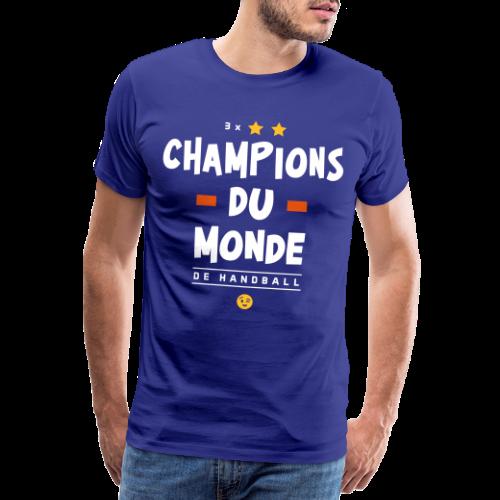 Champions du Monde de Handball - T-shirt Premium Homme