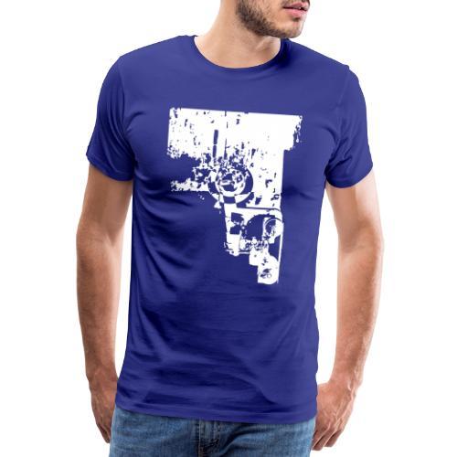 Wrecked Cannon - Mannen Premium T-shirt