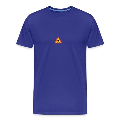 Slirig vägbana - Premium-T-shirt herr