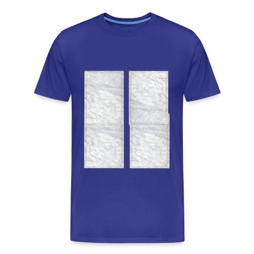 White Marble - T-shirt Premium Homme