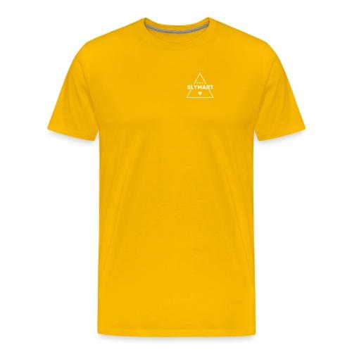 Slymart blanc - T-shirt Premium Homme