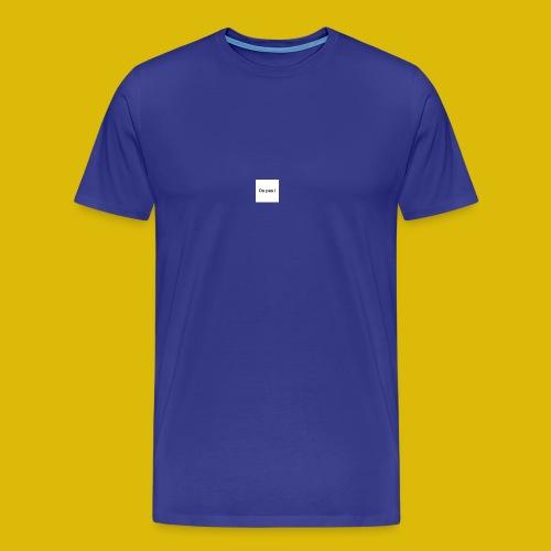 OU PAS - T-shirt Premium Homme