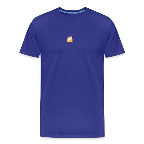 brev t-shirt - Premium-T-shirt herr