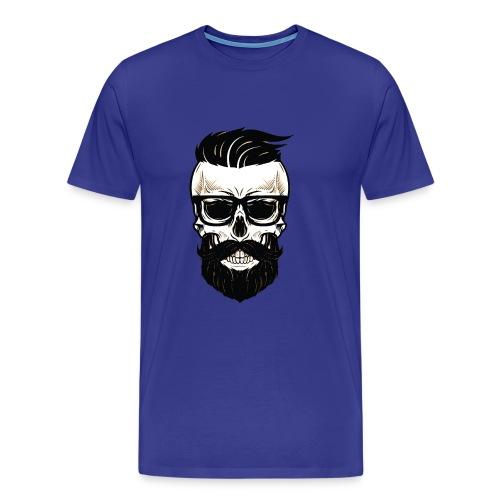 Bearded Dads Skull - Männer Premium T-Shirt