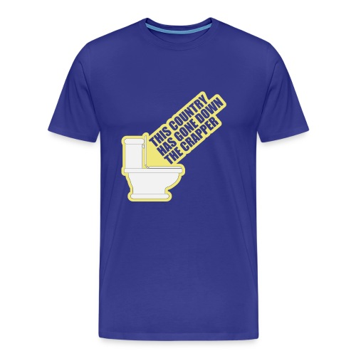 This Country Has Gone Down The Crapper - Men's Premium T-Shirt