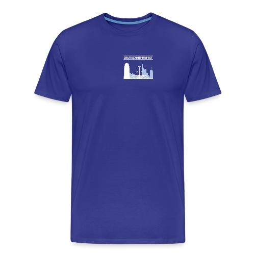 dhf-logo-wort-bild-weiss - Männer Premium T-Shirt