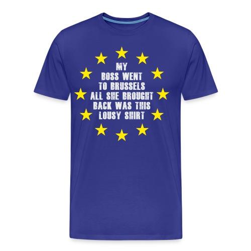 Lousy-Brexit-shirt - Men's Premium T-Shirt
