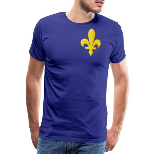 Zlatni Ljiljan - Premium-T-shirt herr
