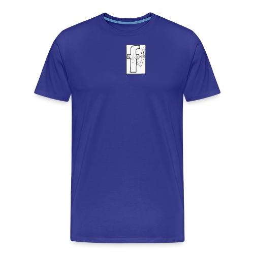 Monsieur Fessbouke - T-shirt Premium Homme