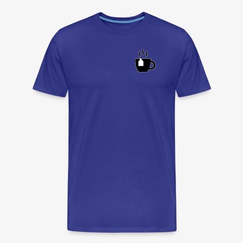 small tea logo - Men's Premium T-Shirt
