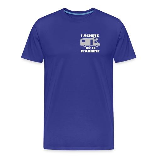 j achete ou je m arrete capucine - T-shirt Premium Homme