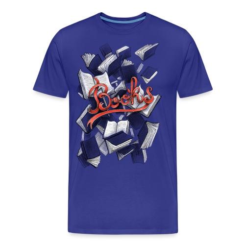 Books - Men's Premium T-Shirt