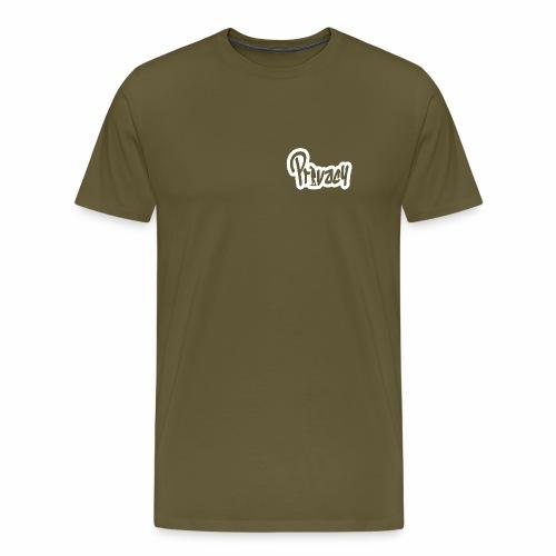Privacy - T-shirt Premium Homme