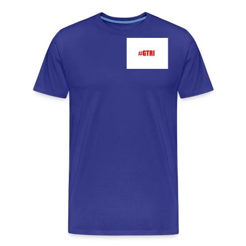 shirt and logo - Men's Premium T-Shirt