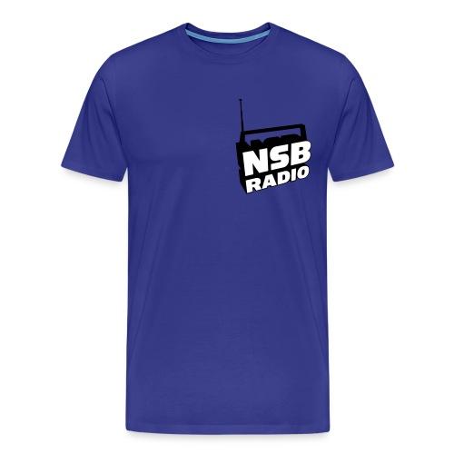NSB Classic on Sky Blue T - Men's Premium T-Shirt