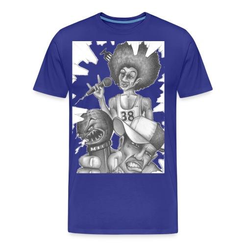iamokej rapsuperstars - Männer Premium T-Shirt