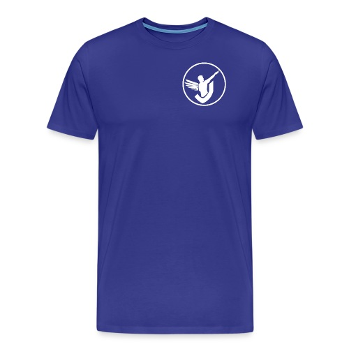 Everywhere Fitness (White Logo) - Männer Premium T-Shirt