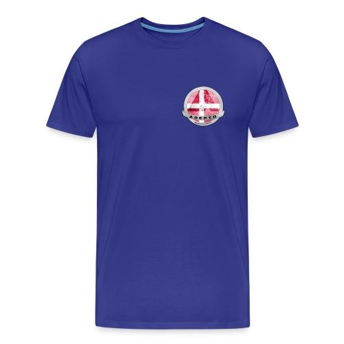 adepto logo redigeret2 png - Herre premium T-shirt