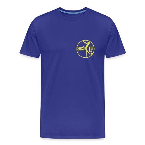 susaa logo gennemsigtig - Herre premium T-shirt