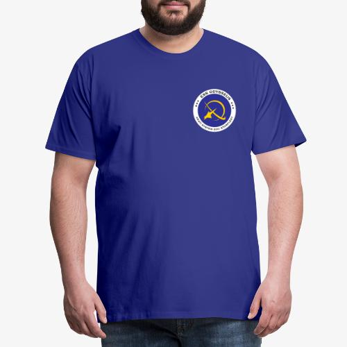 Shipemblem - Miesten premium t-paita