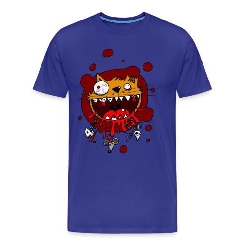 psychocat - Mannen Premium T-shirt