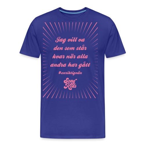 Songkids tshirt tryck 1 png - Premium-T-shirt herr