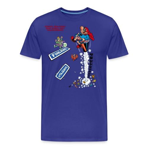 2018 World Fart Champ - Miesten premium t-paita