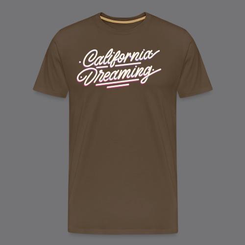 CALIFORNIA DREAMING Vintage Tee Shirt - Men's Premium T-Shirt