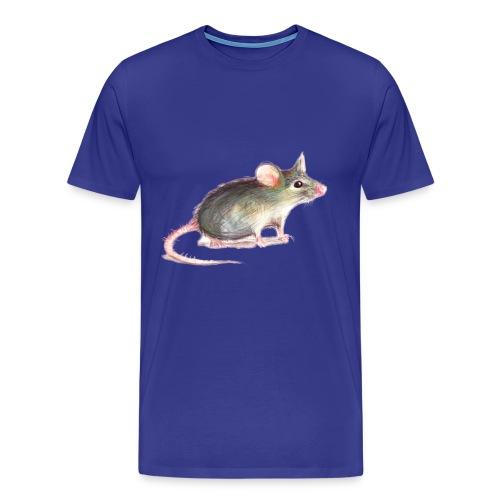 Kleine graue Maus - Männer Premium T-Shirt