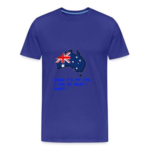 AUSTRALIAN MERCH - Men's Premium T-Shirt