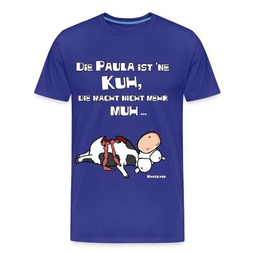 die paula is ne kuh - Männer Premium T-Shirt