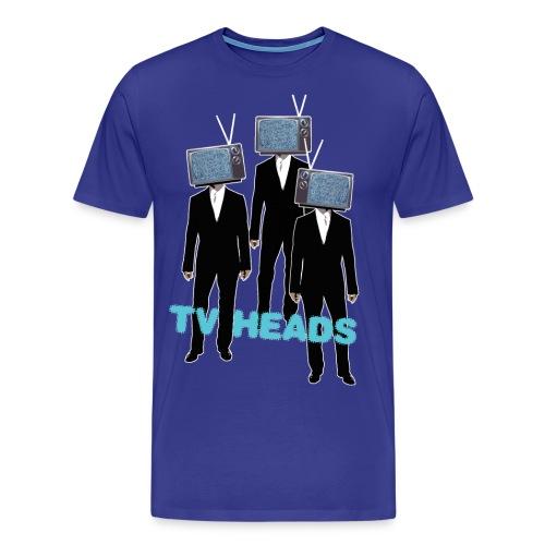 TV HEADS - Herre premium T-shirt