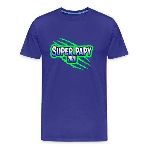 super papy 2020 - T-shirt Premium Homme