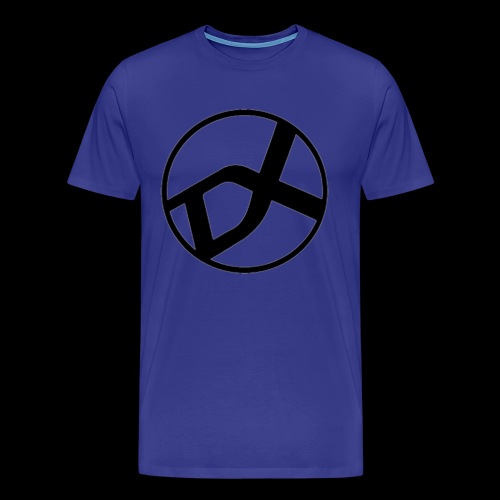 DX Logo black - Männer Premium T-Shirt