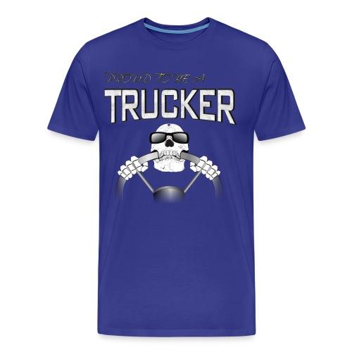Trucker / Fernfahrer Motiv - Männer Premium T-Shirt
