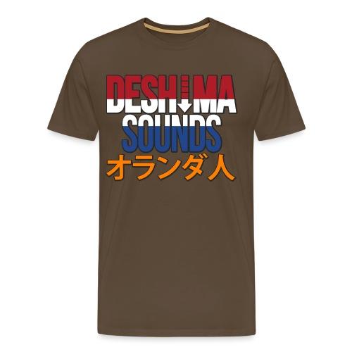 Dutch - Mannen Premium T-shirt