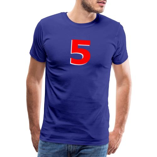 Mansell Red 5 - Men's Premium T-Shirt