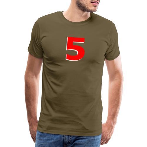 Mansell Red 5 - Men's Premium T-Shirt
