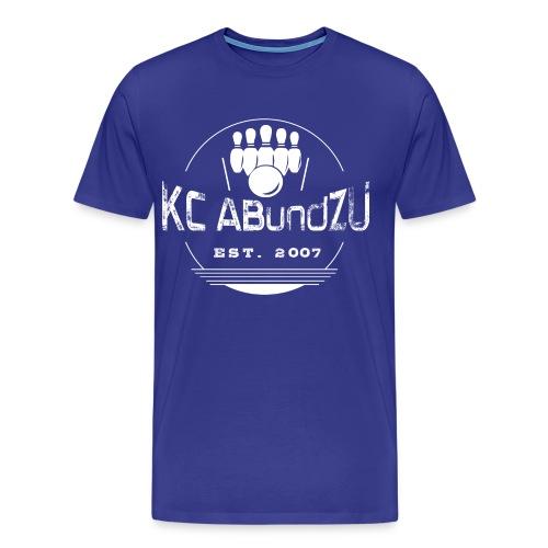 KC ABundZU Weiß - Männer Premium T-Shirt