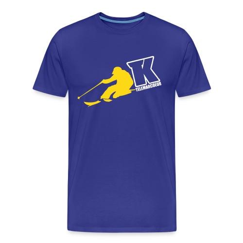2017 TK TELEMARCOEUR TELEMARK BRAND - T-shirt Premium Homme