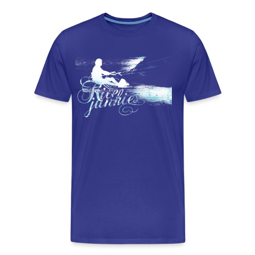 kitejunkies mensgrey - Men's Premium T-Shirt