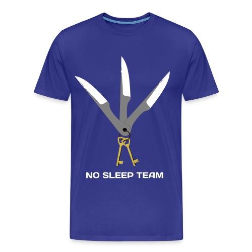 LogoNosleepWhiteCompresse - T-shirt Premium Homme