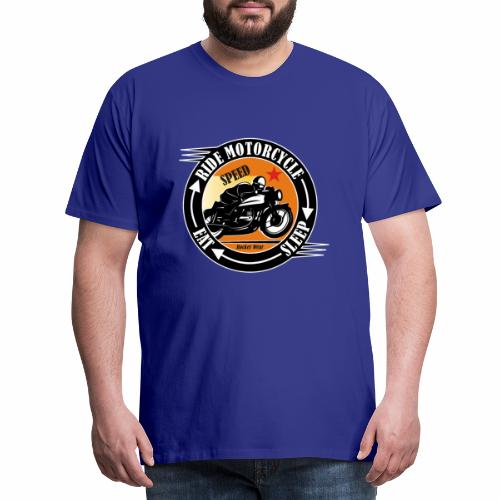 Ride Motorcycle - Sleep - RIde - Men's Premium T-Shirt