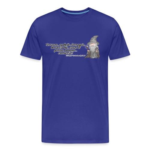 citazioni ganjalf1 png - Maglietta Premium da uomo