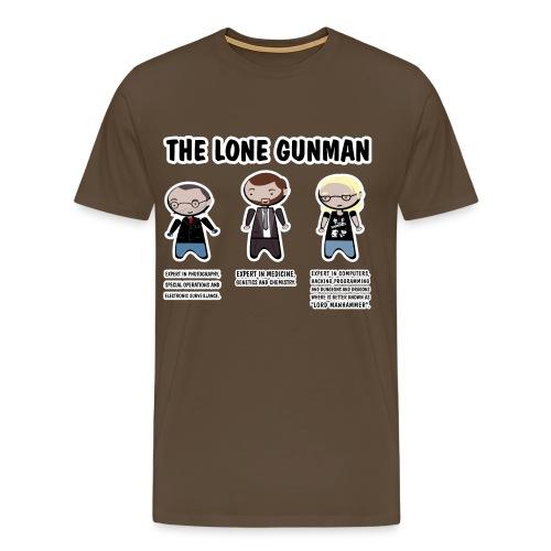 x files lonegunman - Camiseta premium hombre